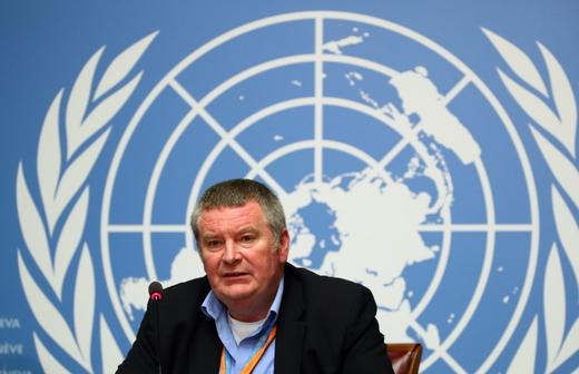 Mike Ryan, Executive Director of the World Health Organisation -REUTERS