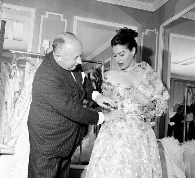 Christian Dior Ava Gardner