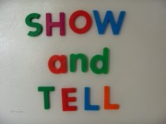 Show and Tell Meetings