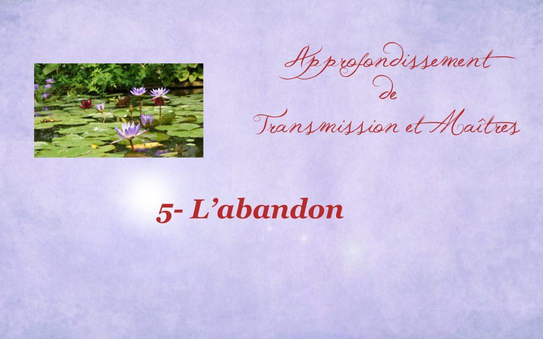 171-Approfondir 5- abandon