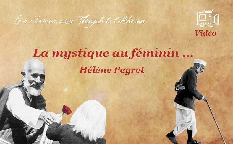 La mystique au féminin … Hélène Peyret