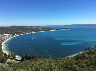 View of Shoal Bay. Photo: Maria Schindlecker