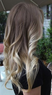 Dirty Blonde With Dark Brown Ombre Hair ...