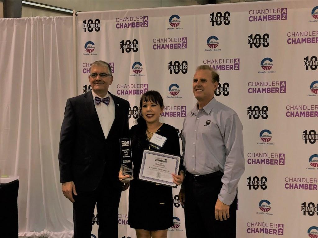 Award at Chandler Top 100