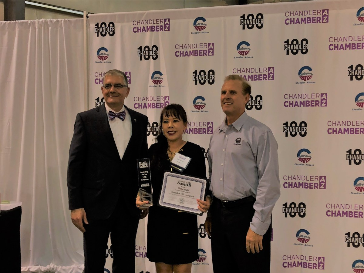 Award at Chandler Top 100