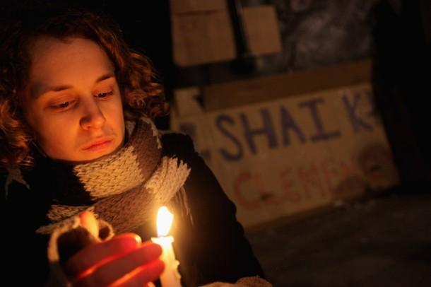 Vigil by Candlelight for Akmal Shaikh