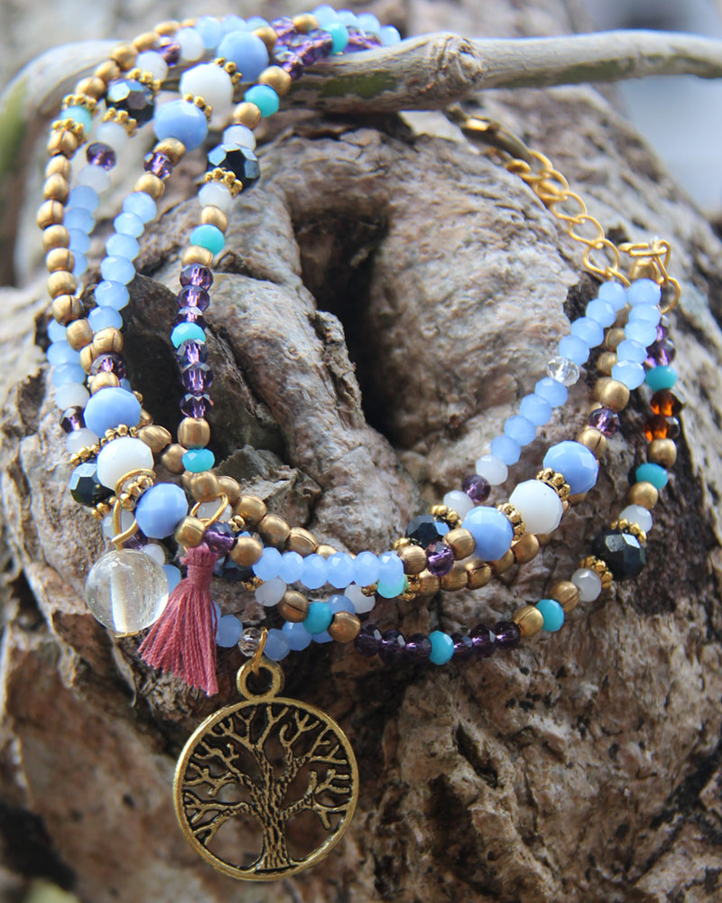 Bracelet: Tree of Life Multi-Strand