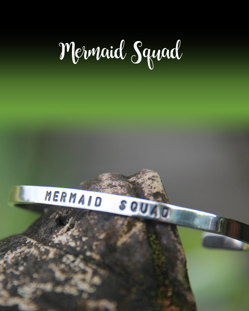 Good Vibes Bracelet: Mermaid Squad