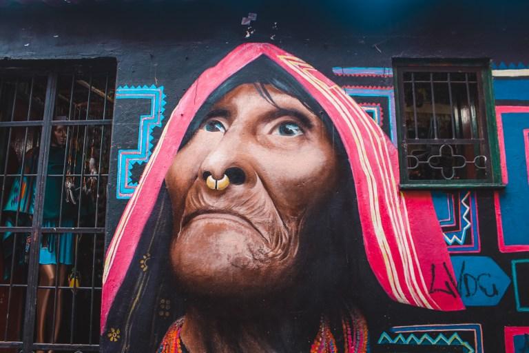 Bogotá | De oranje rugzak