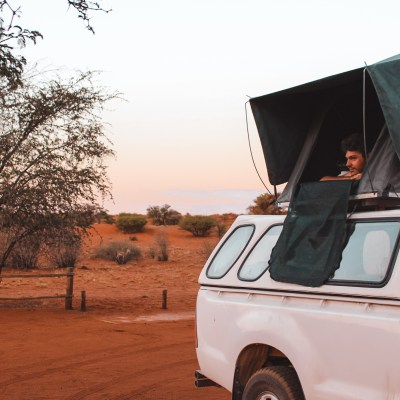 Camping sites in Namibia | Camping at Kalahari Namibia at Bagatelle Game Ranch |Reisroute | Kalahari | Favoriete overnachtingen Namibië | Favourite stays in Namibia | The Orange Backpack