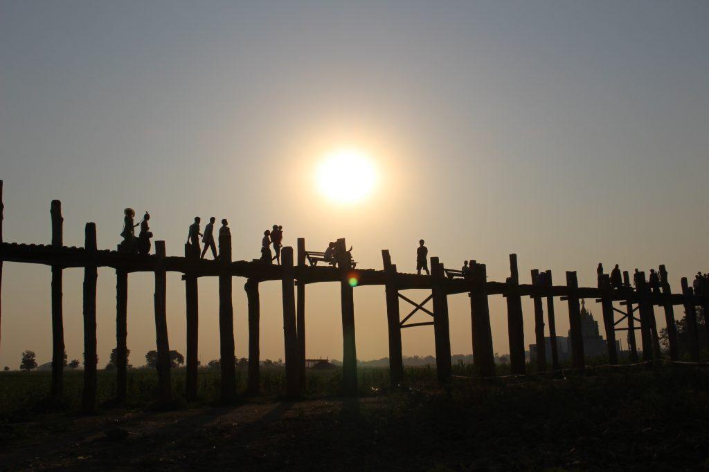 Mandalay | U Bein Bridge | Myanmar | The Orange Backpack