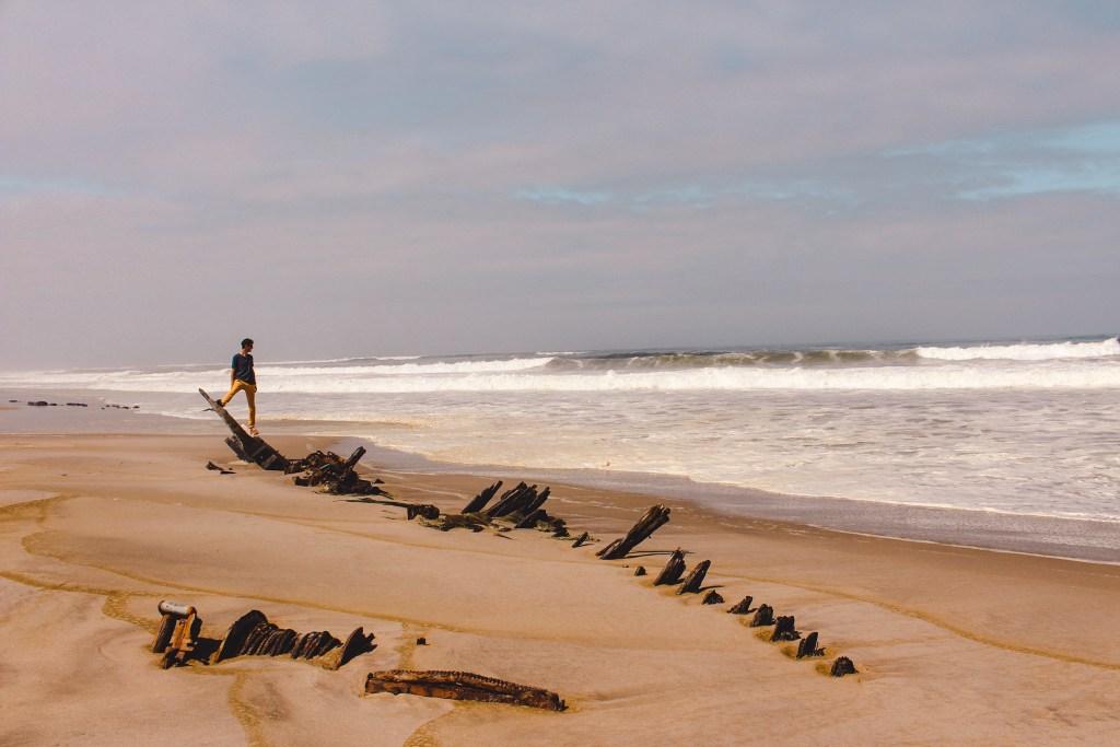 Skeleton Coast | De oranje rugzak