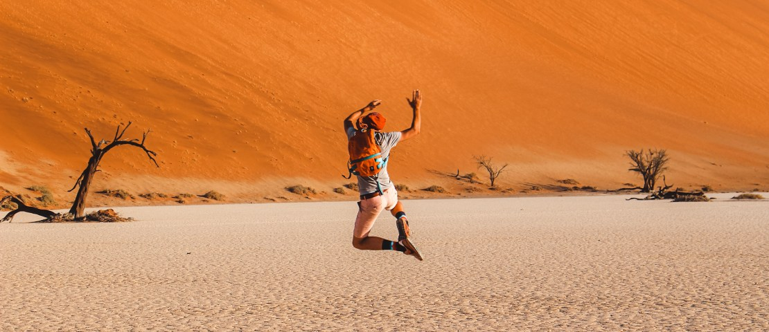 Why we wouldn't recommend backpacking Namibia (+ tips if you do)