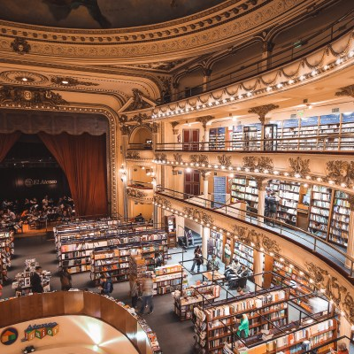 El Ateneo Grand Splendid Buenos Aires | Argentina | The Orange Backpack
