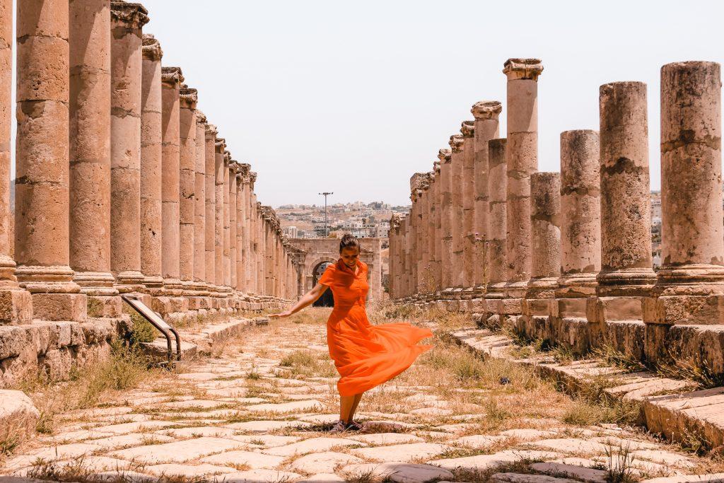 Jerash | Jordan | Jordan | The Orange Backpack