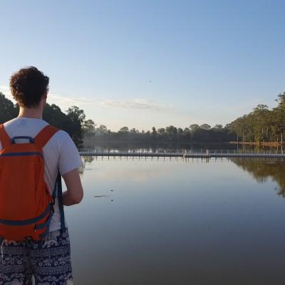 Cambodja | Onze tiende date in Angkor Wat | The Orange Backpack