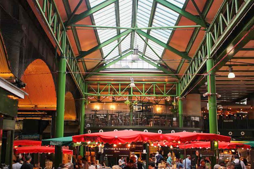 Londen | Food Markets | Borough Market | The Orange Backpack