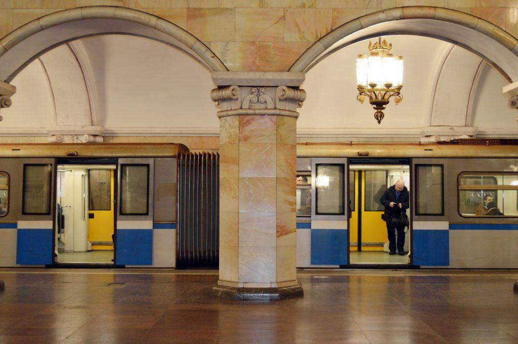 Metro van Moskou   Metro of Moscow   Rusland   Russia   The Orange Backpack
