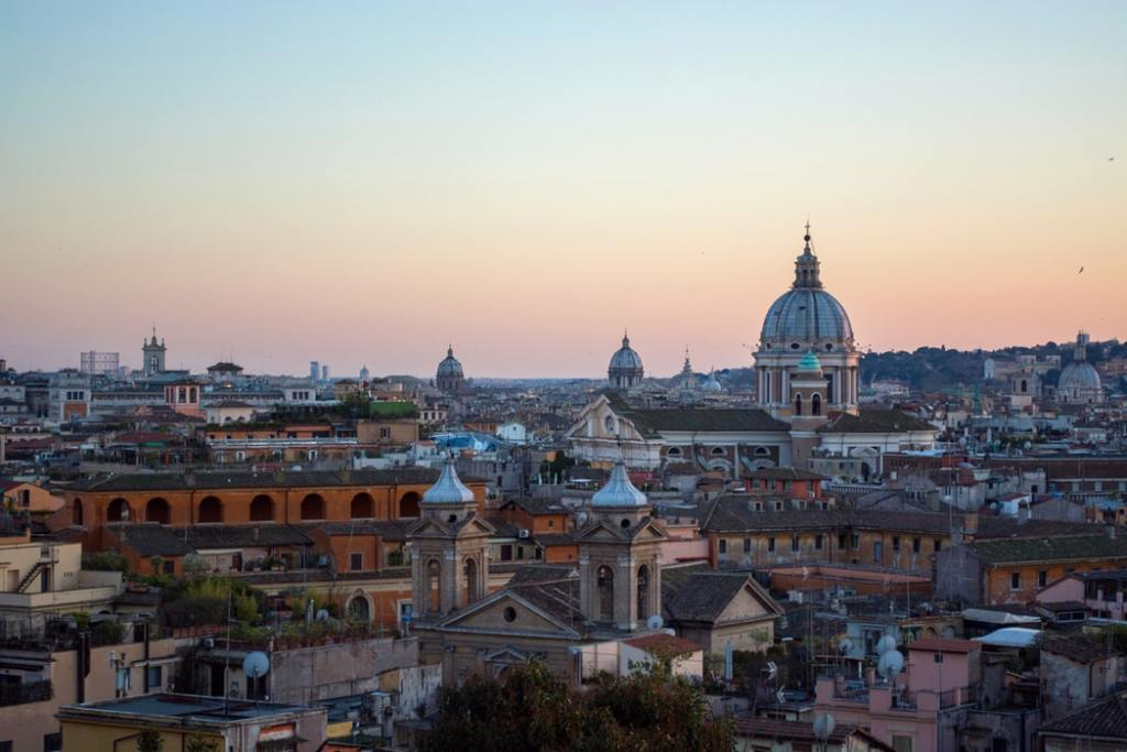 Rome   Italië   Italy   The Orange Backpack