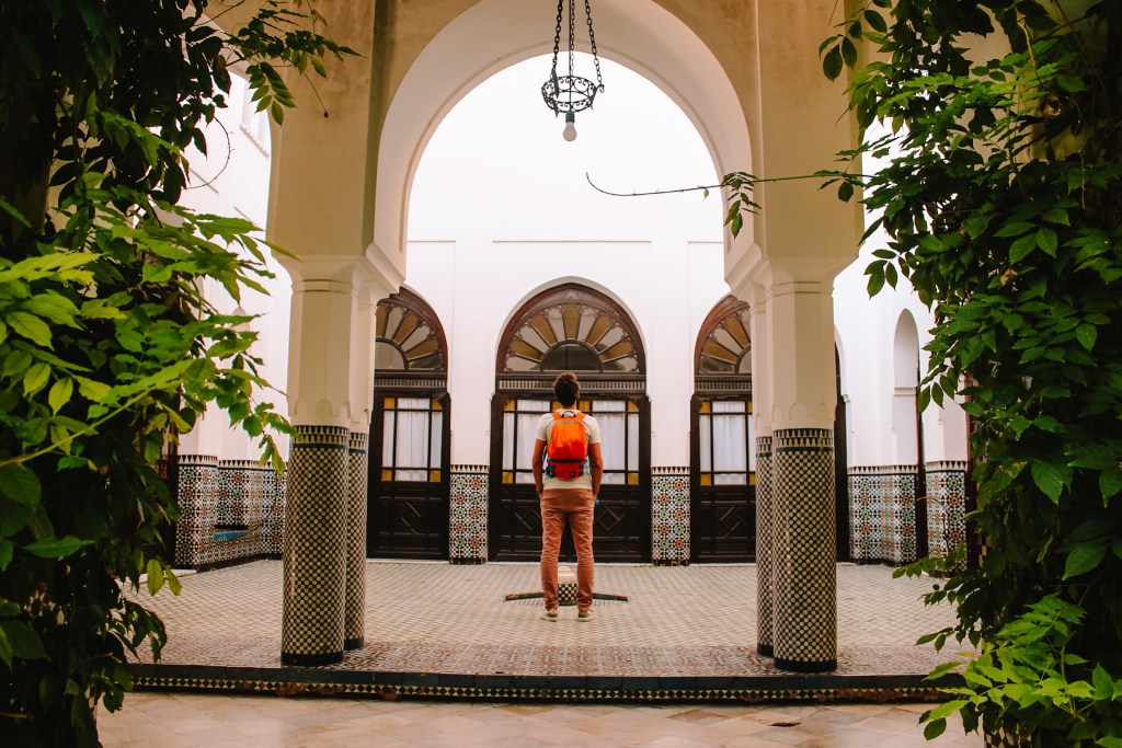 Grote Moskee Parijs   Mosque   Parijs   Paris   The Orange Backpack