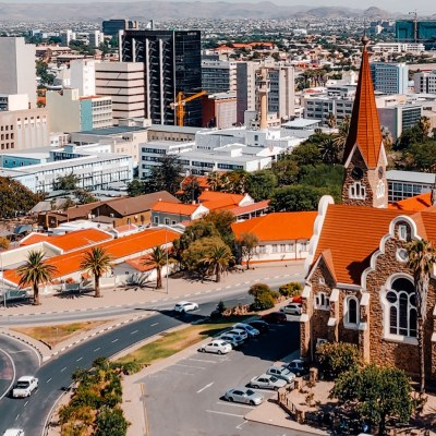 Windhoek Namibie | The Orange Backpack