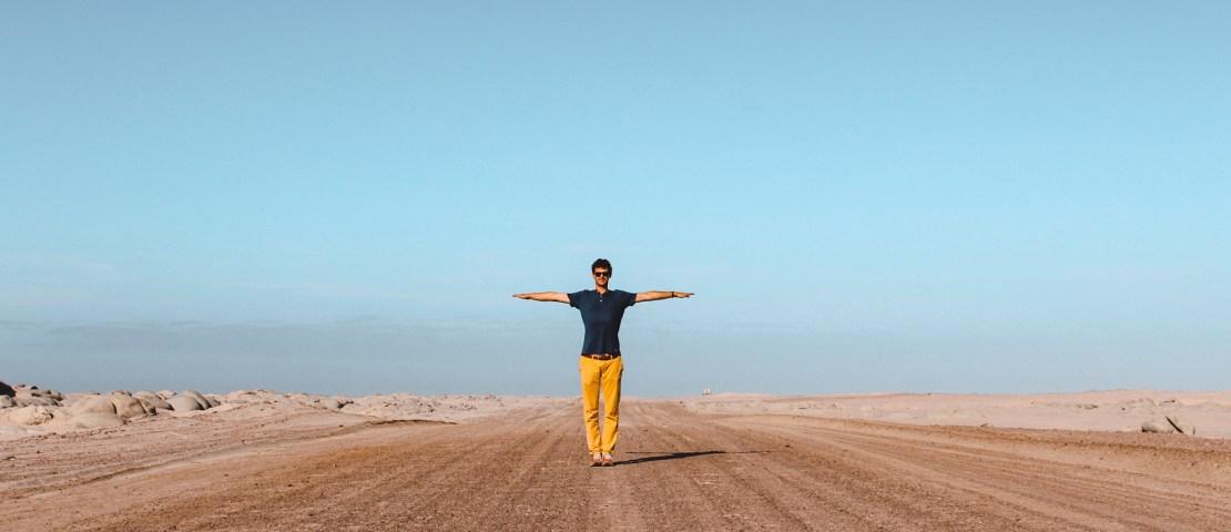 Rijden in Namibië | Driving in Namibia | Windhoek | Namibië | Namibia | The Orange Backpack