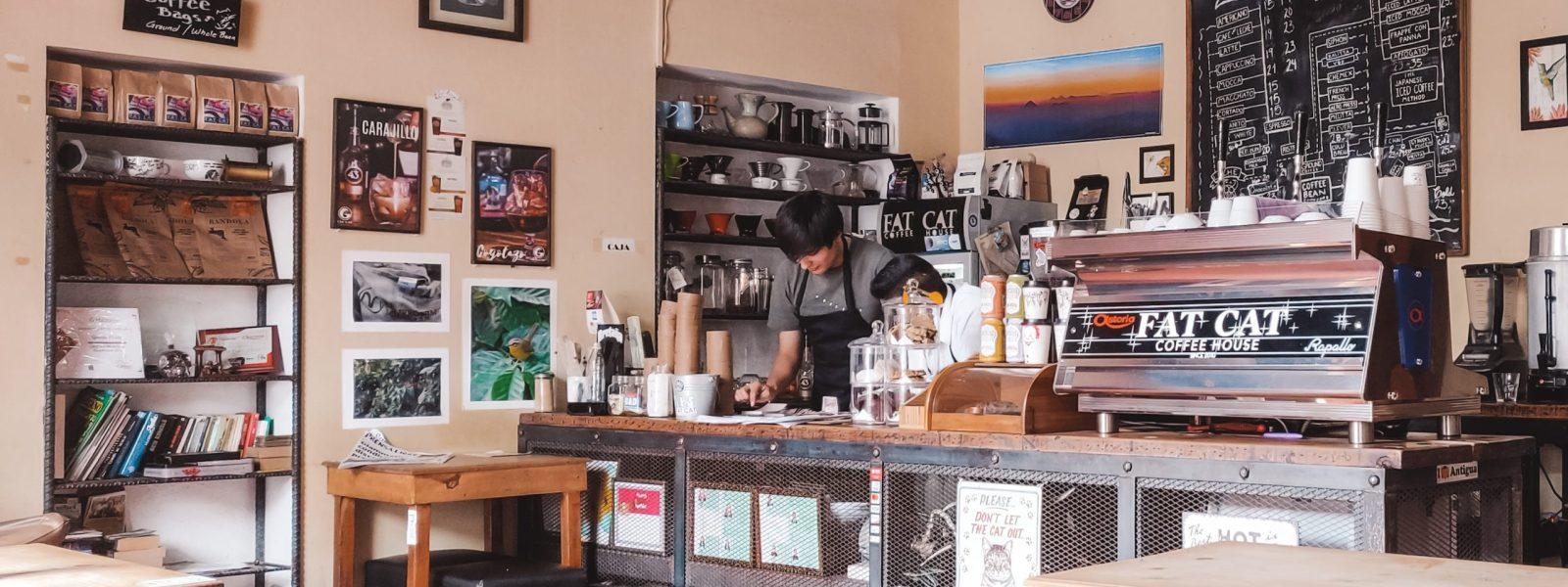 13x koffie in Antigua Guatemala