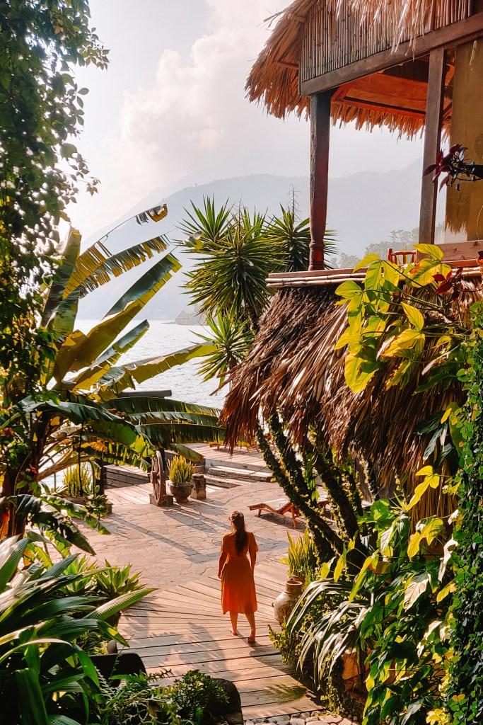 Laguna Lodge | Lago Atitlan | TheOrangeBackpack