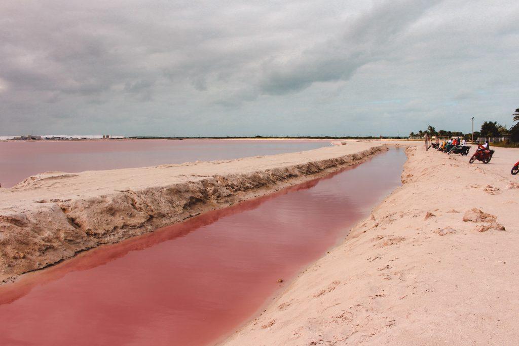 Roze meren | Pink Lakes Las Colorads | Rio Lagartos Yucutan Mexico | The Orange Backpack