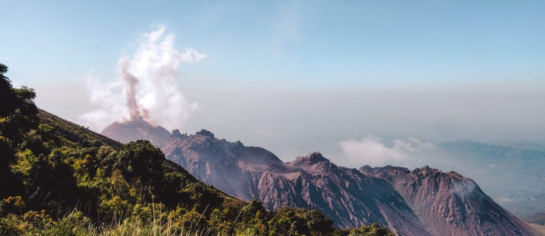 The Santiaguito: hike to the most dangerous volcano in Guatemala