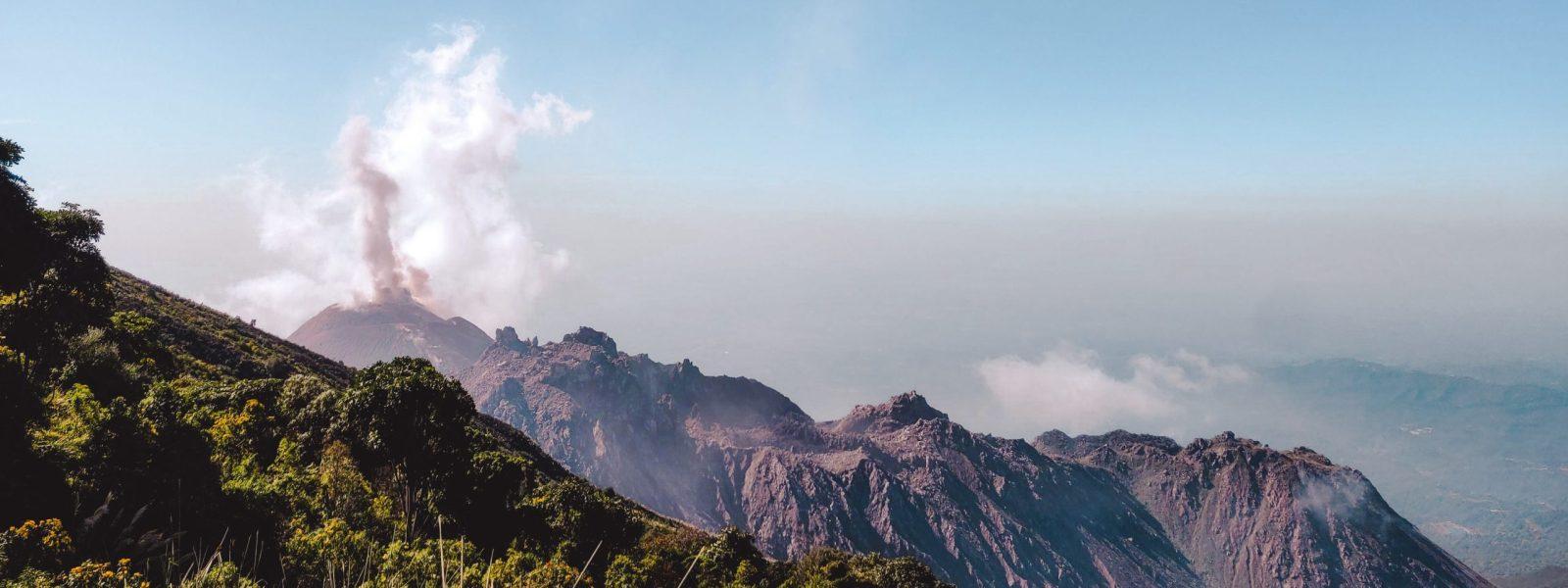De Santiaguito: hike naar de gevaarlijkste vulkaan van Guatemala