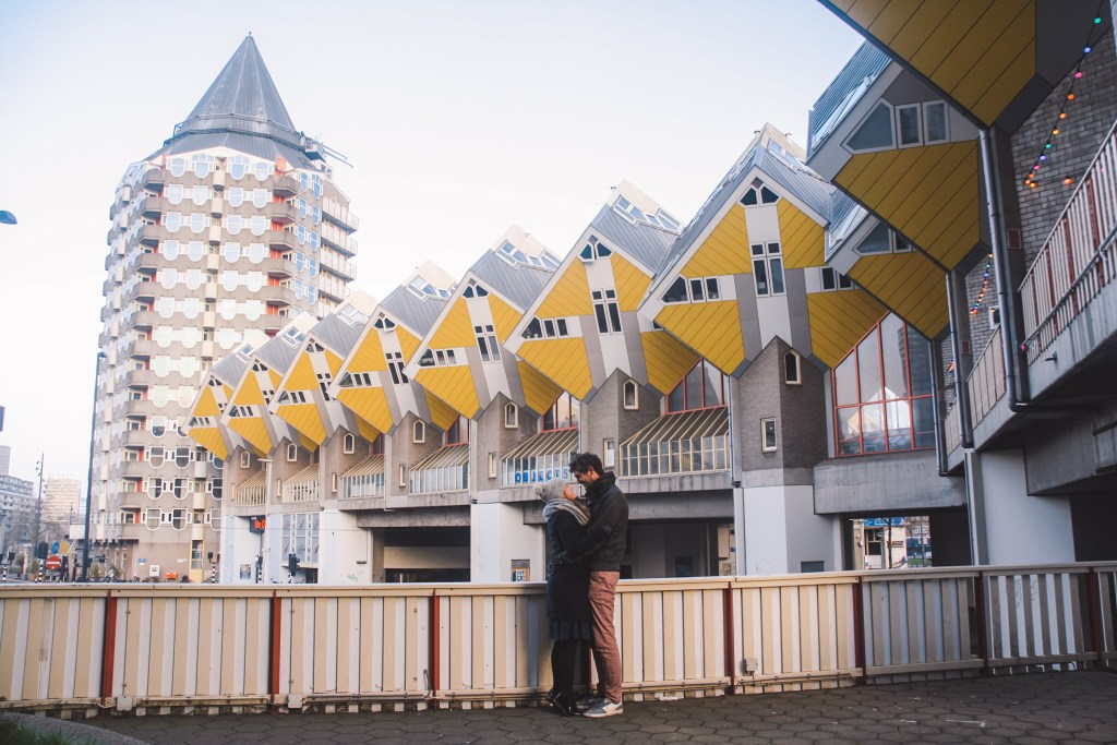 Kubus Woningen | Cube Houses | Rotterdam | Nederland | Netherlands | The Orange Backpack