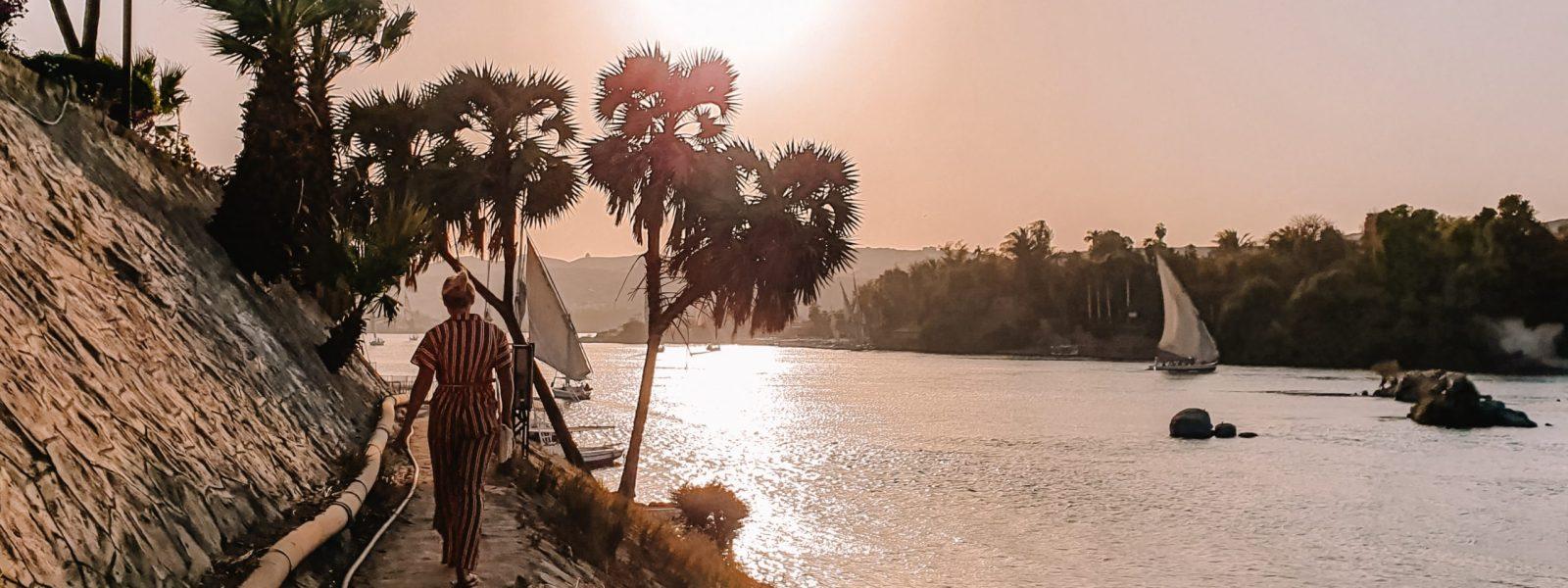 Elephantine Island, de beste plek bij Aswan om te slapen