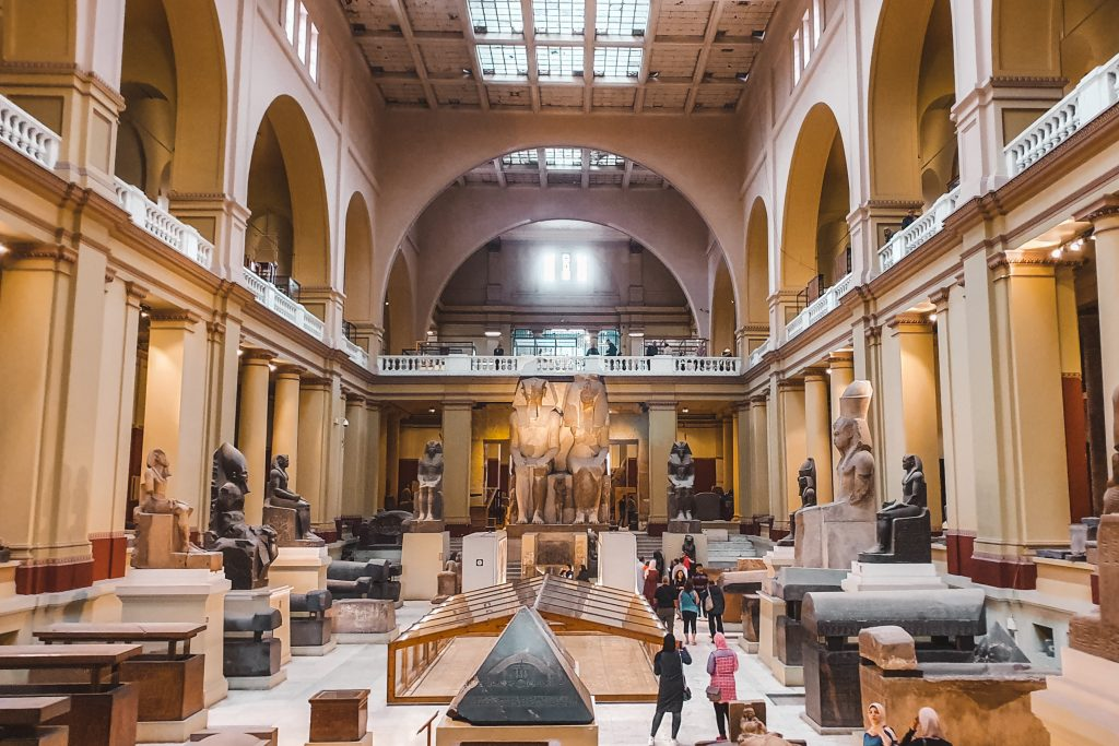 Cairo | Egyptian Museum | Egypt | Egypte | The Orange Backpack
