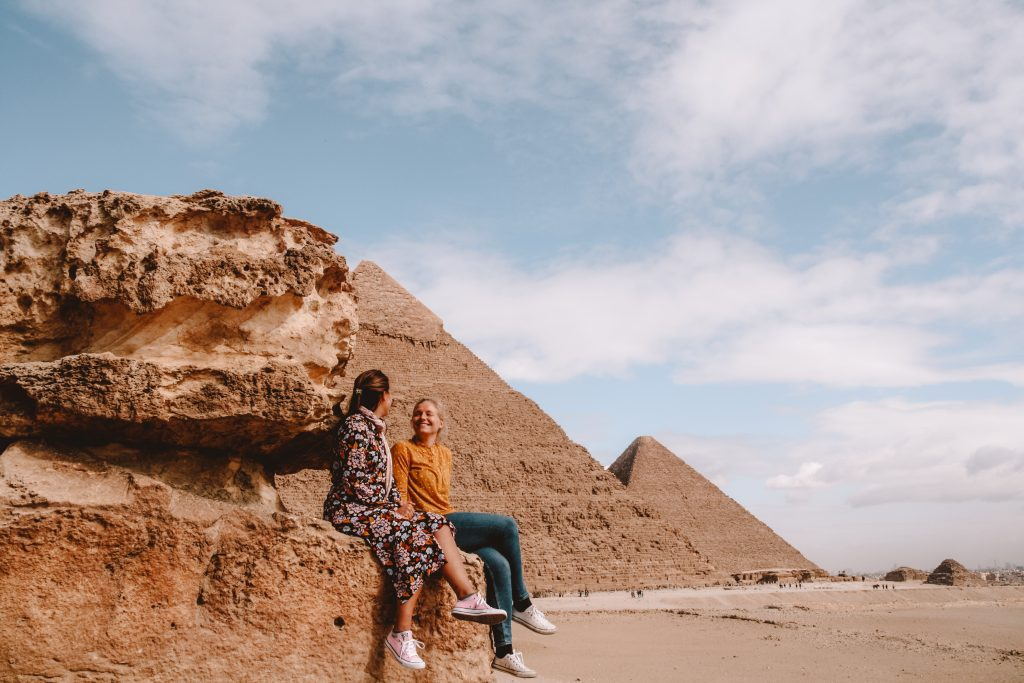 Cairo Pyraids, Giza | Pyramids, Giza | Egypt Egypt The Orange Backpack