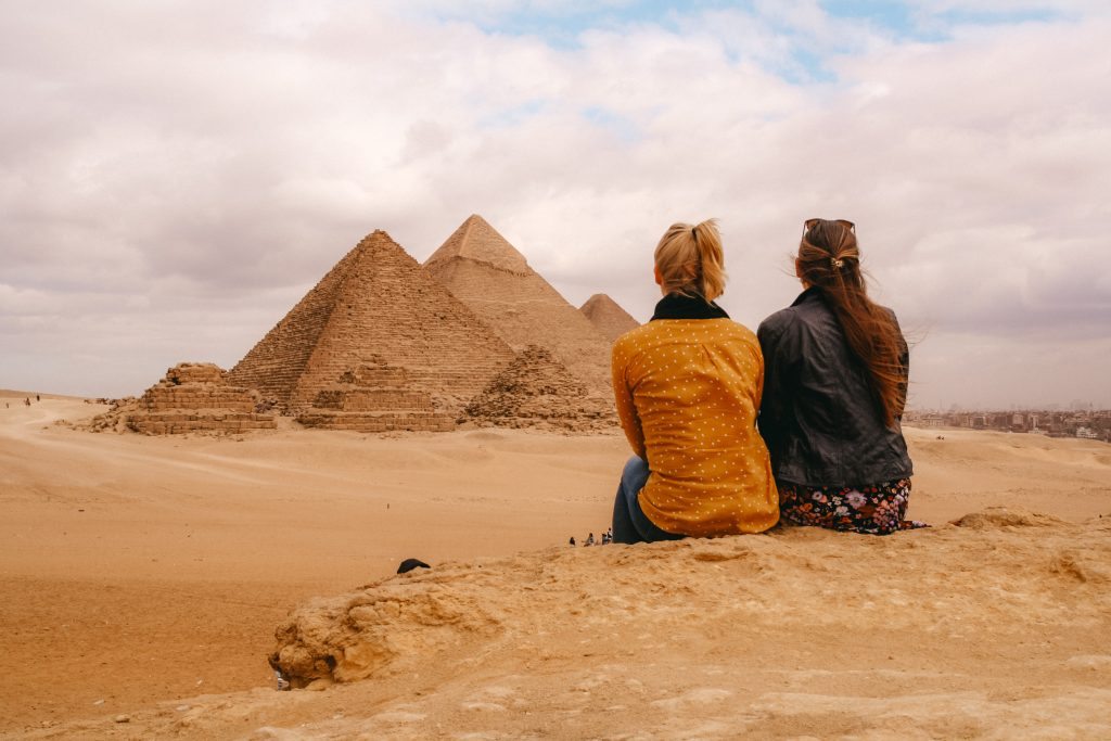 Cairo | Pyraids, Giza | Piramides, Gizeh | Egypt | Egypte | The Orange Backpack