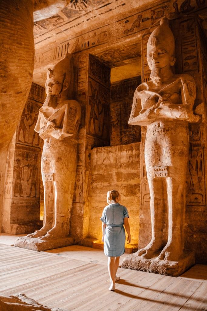 Abu Simbel | Ramses II | Egypt | Egypte | The Orange Backpack