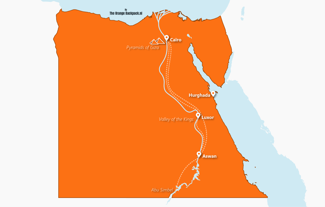 The best travel itinerary for Egypt   The Orange Backpack