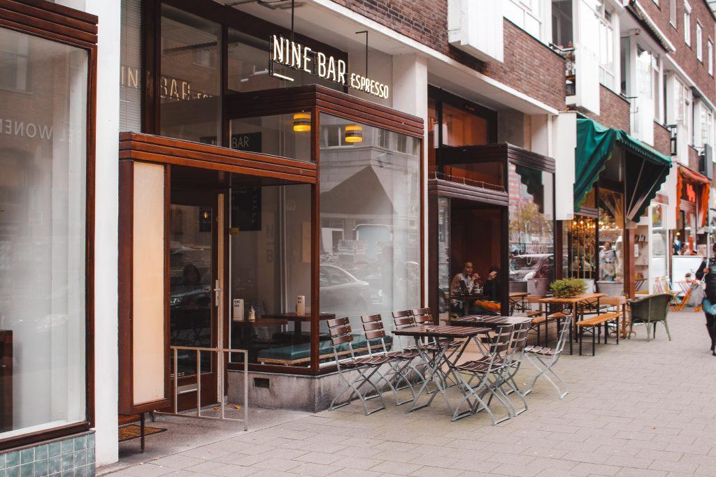 Nine Bar | Coffee in Rotterdam | Vega & vegan | Breakfast in Rotterdam | The Orange Backpack
