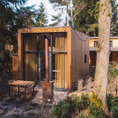 Tiny House Droomparken Veluwe | De Kleine Beer Veluwe | Staycation | The Orange Backpack