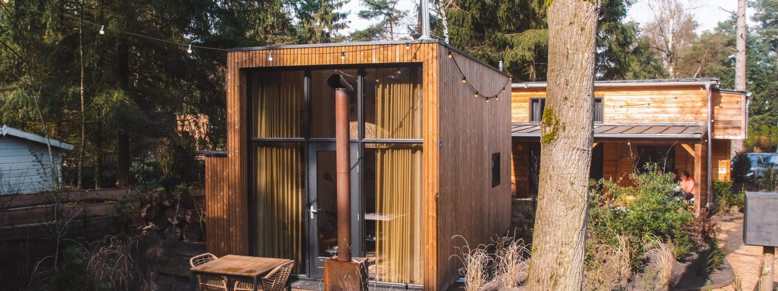 De Kleine Beer: ultiem tiny house op de Veluwe