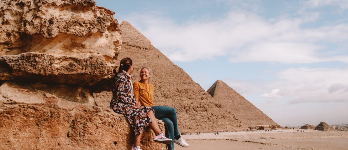 Pyramids of Giza | piramides van Gizeh | Egypte | Egypt | The Orange Backpack