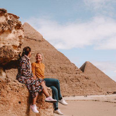 Pyramids of Giza | piramides van Gizeh | Egypte | Egypt | The Orange Backpack