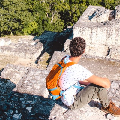 Calakmul in Yucatan, Mexico | Maya tempels | The Orange Backpack