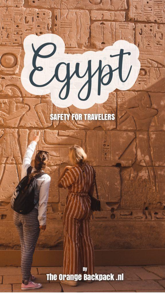 Is reizen in Egypte veilig