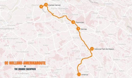 Nederlandse roadtrip Limburg De Holland-Amerikaroute
