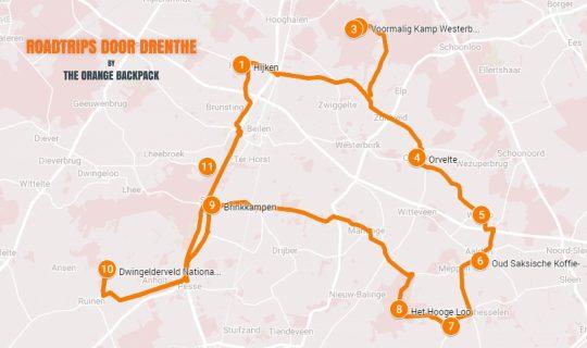 Autoroute Middenveldroute - Nederlandse roadtrip