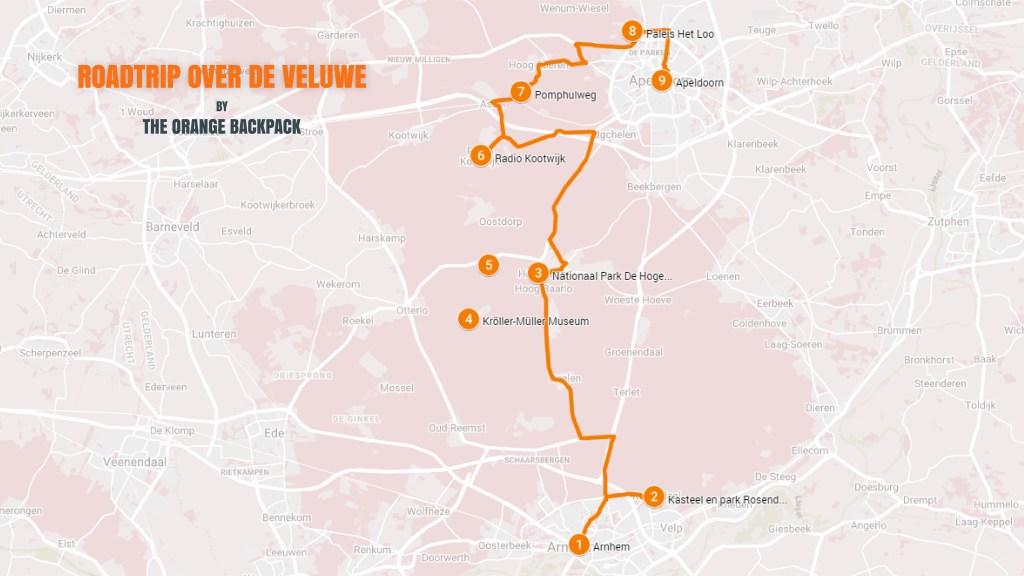 Autoroute Veluwe - Nederlandse roadtrip