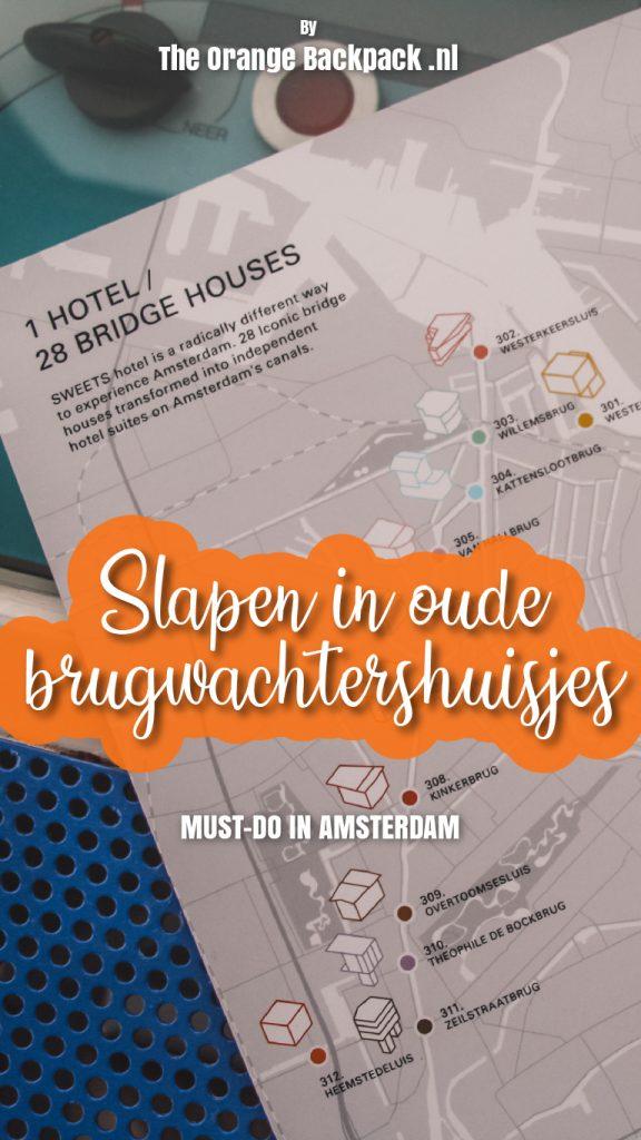 Brugwachtershuisjes aan de Amsterdamse grachten | Sweets Hotel Amsterdam