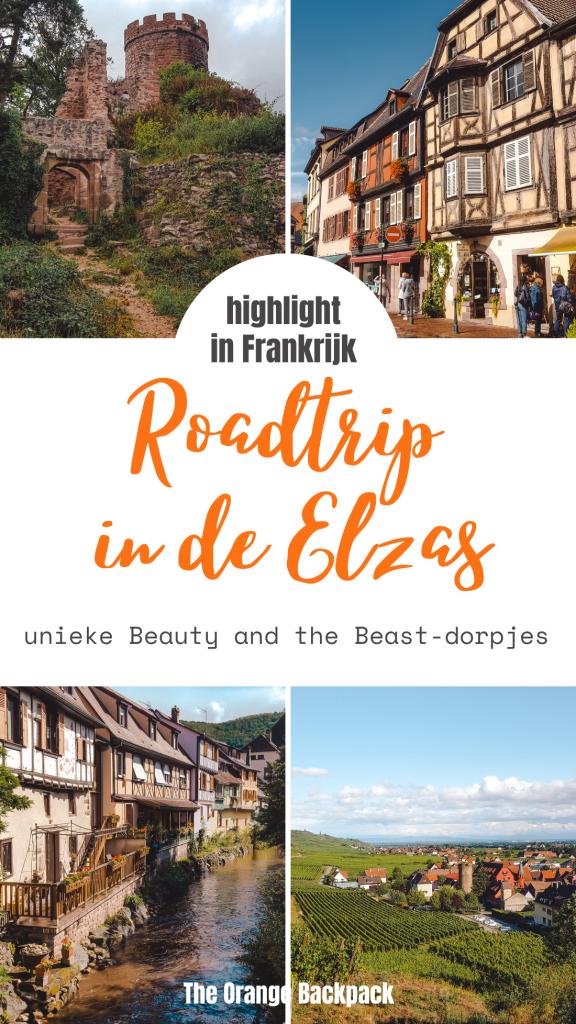 Beauty and the beast roadtrip in Elzas met pittoreske dorpjes